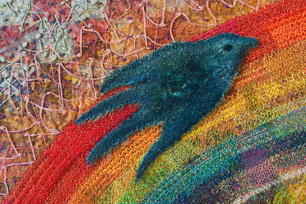 Somewhere Over The Rainbow - detail